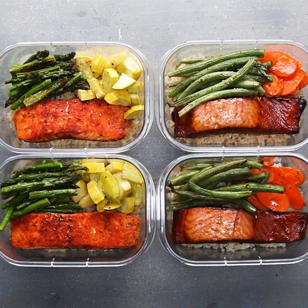 Easy diet food prep