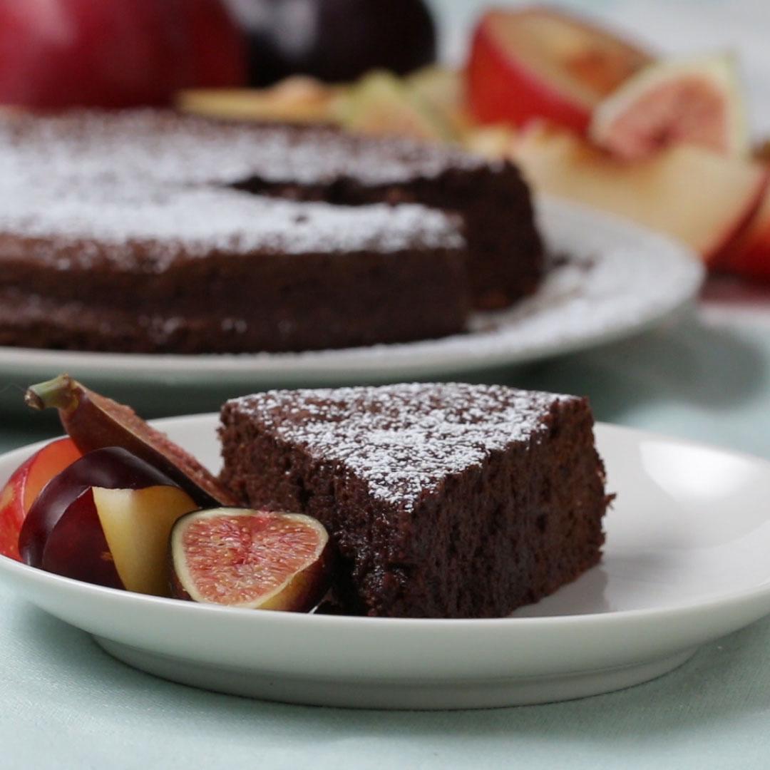 2 ingredient Chocolate Cake Recipe by Tasty