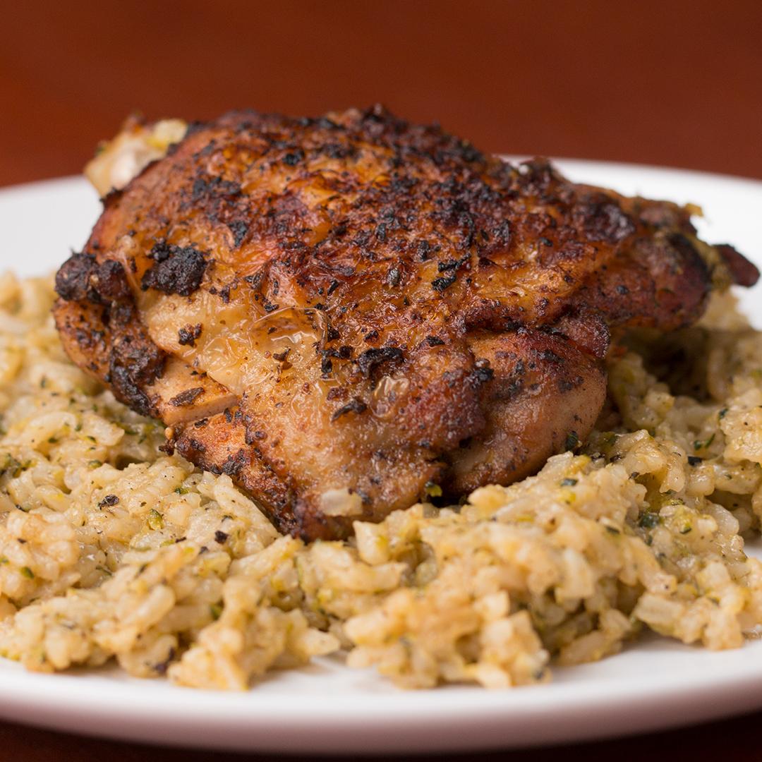 Paprika Chicken Amp Rice Bake Recipe By Tasty
