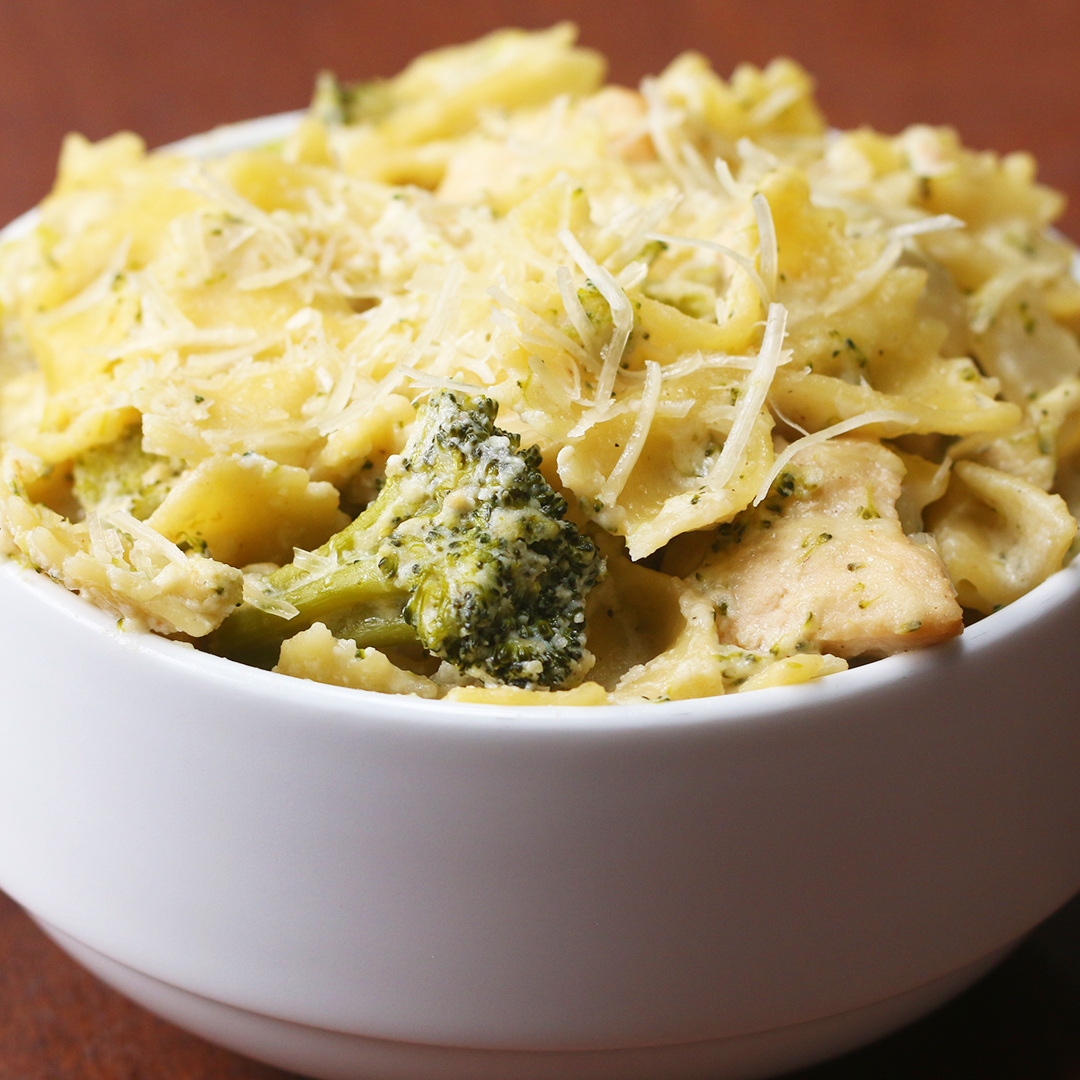 One-Pot Creamy Chicken And Broccoli Pasta Recipe By Tasty-2312