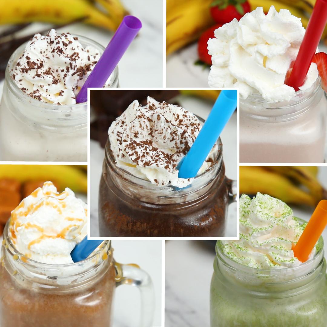 Frozen Blended Drinks 5 Ways