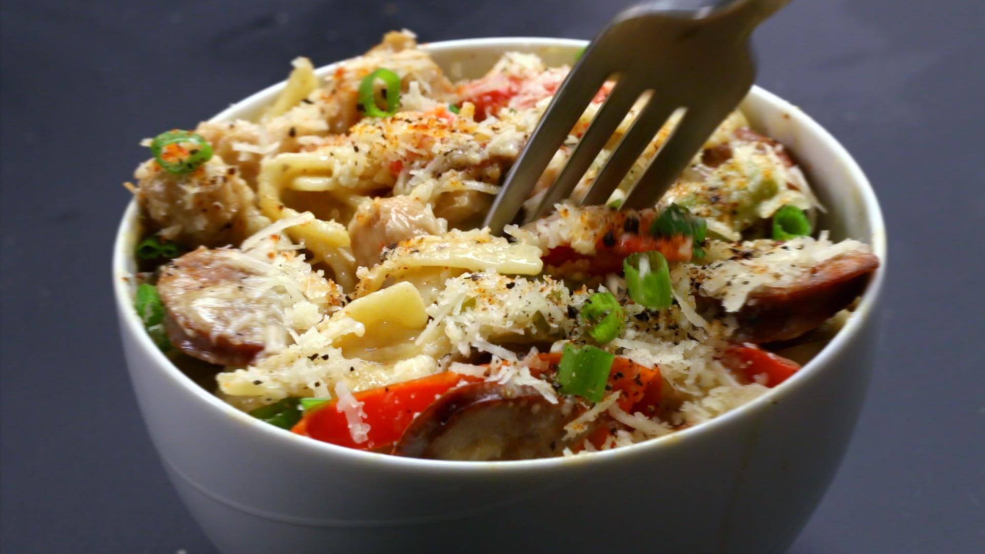 One-Pot Cajun Pasta Recipe by Tasty image