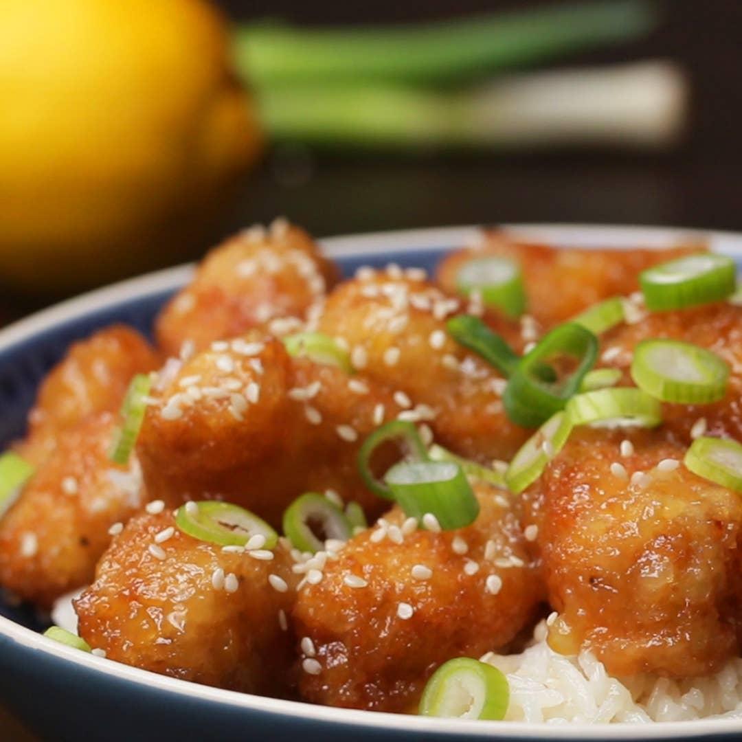 Chinese Take Away Style Lemon Chicken Recipe By Tasty