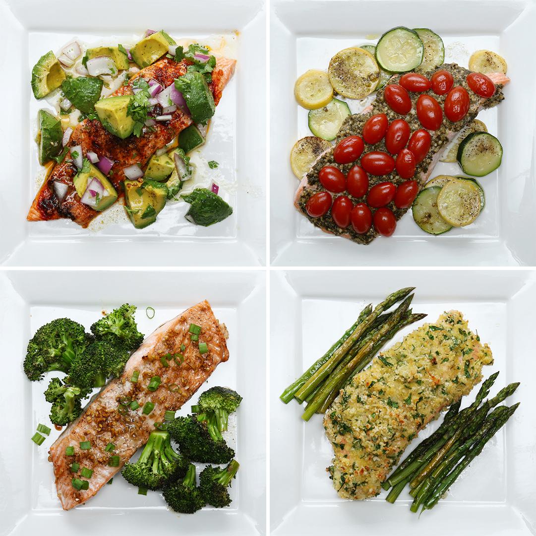 One-Pan Salmon 4 Ways   Recipes_image