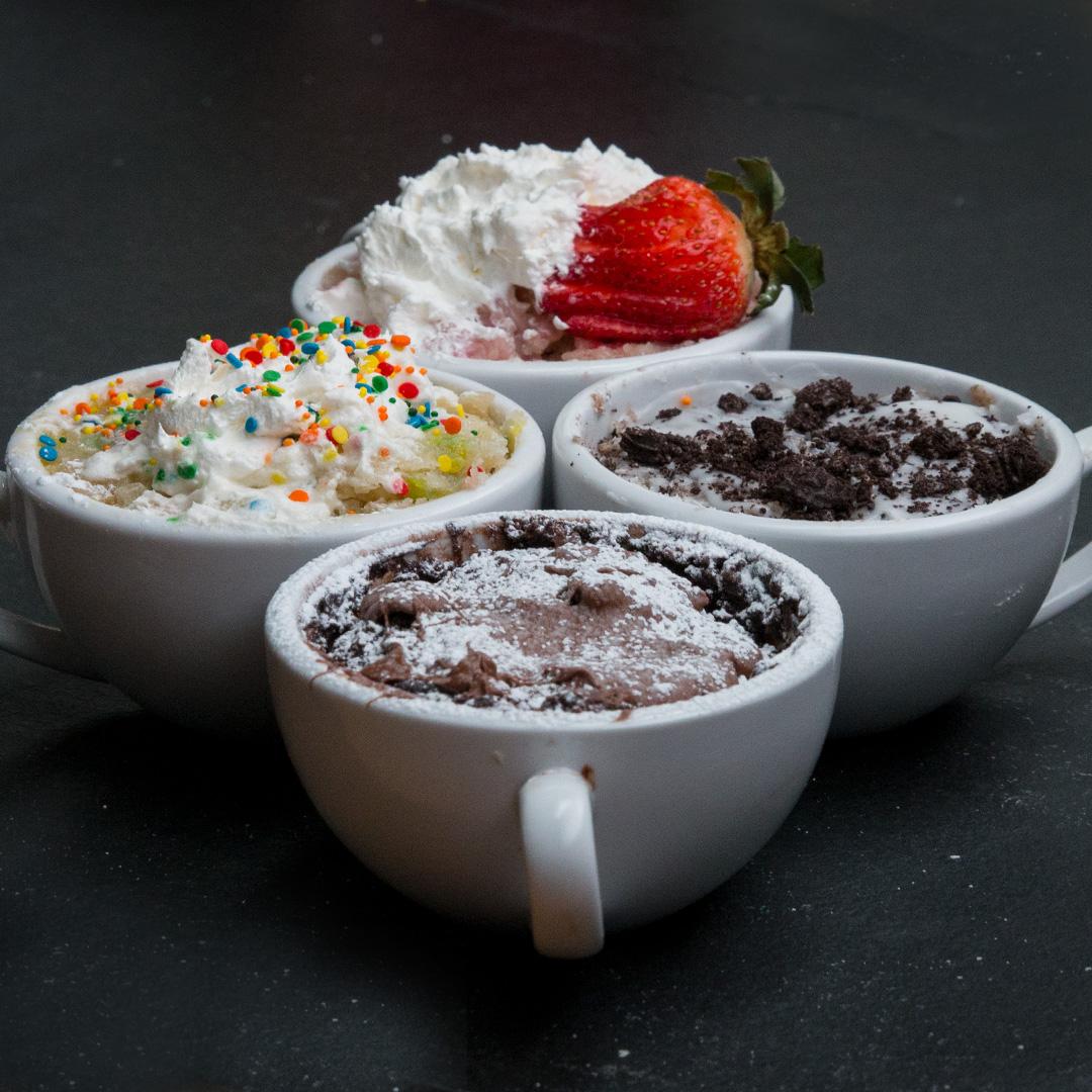 3 Minute Mug Cakes 4 Ways Recipes
