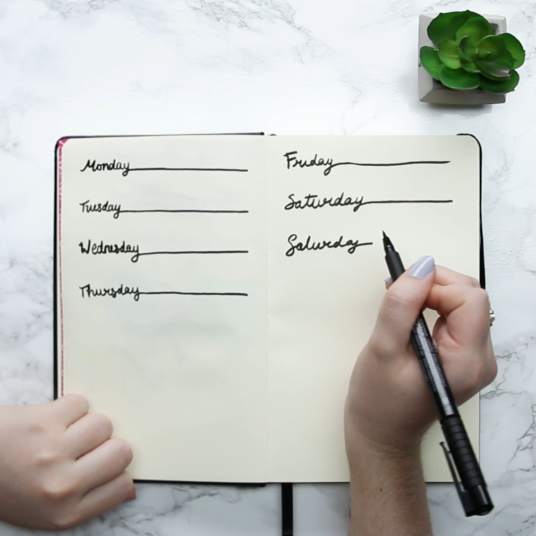 Buzzfeed Video Bullet Journal Hacks And Ideas