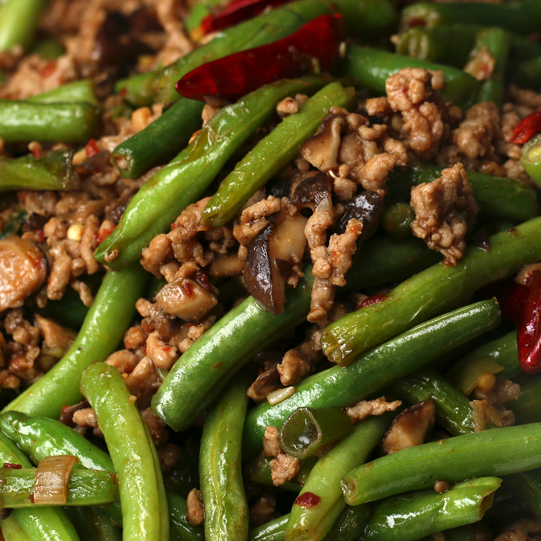 Chinese Green Beans Recipe By Tasty
