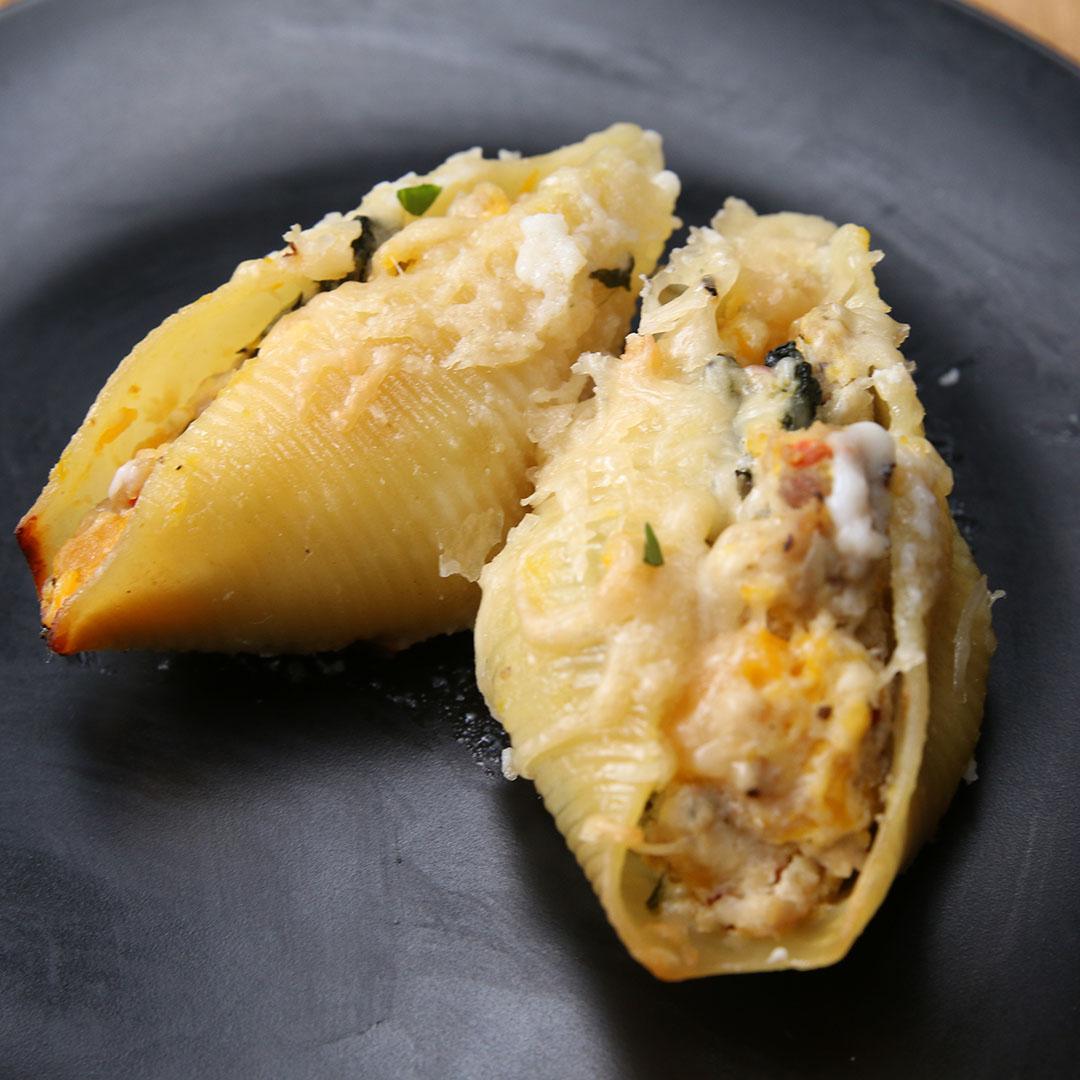 Spinach Artichoke Mac & Cheese by Tasty