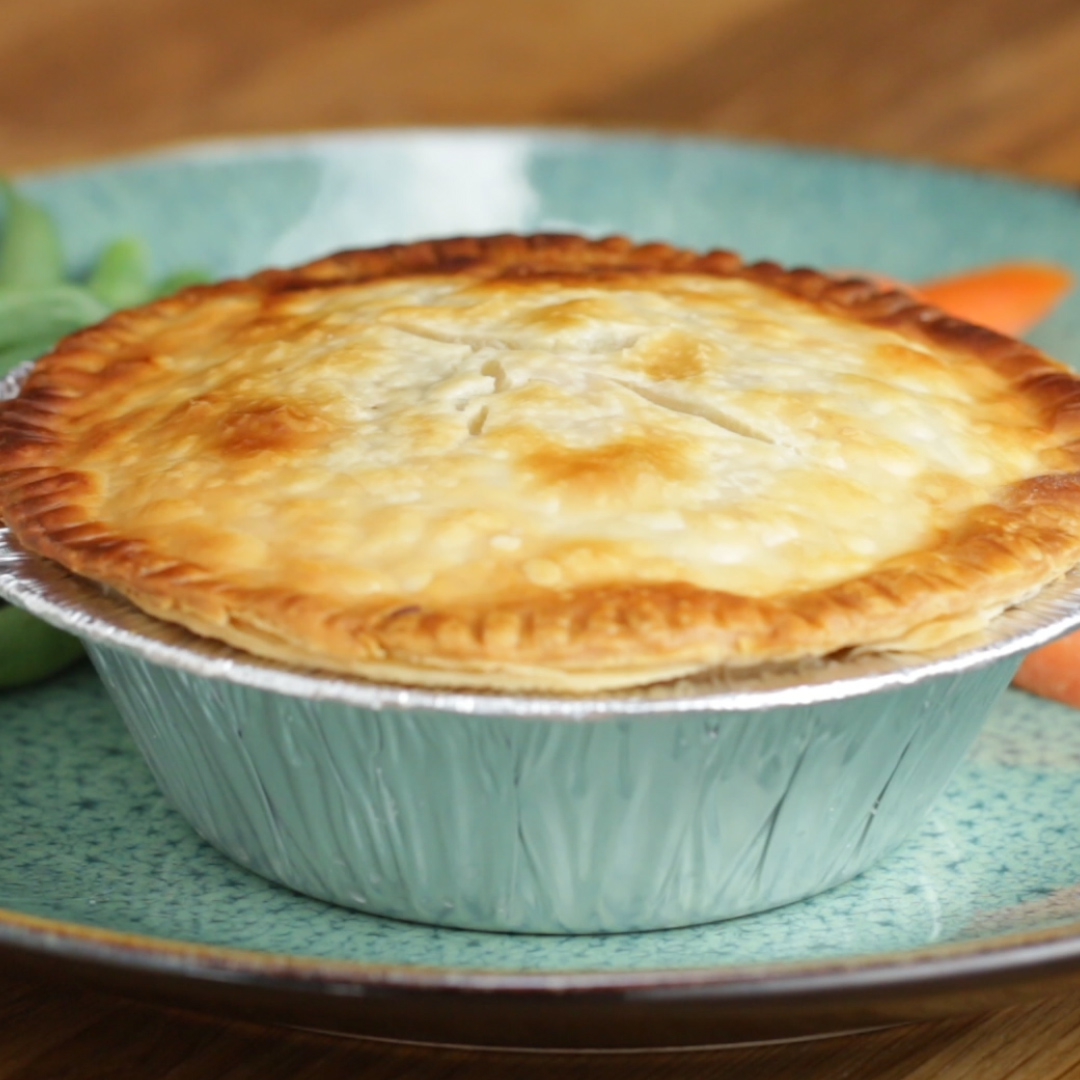 Freeze Amp Bake Chicken Pot Pies Recipe By Tasty