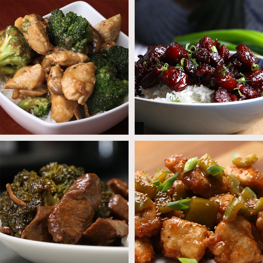 6 Homemade Chinese Dinners Recipes