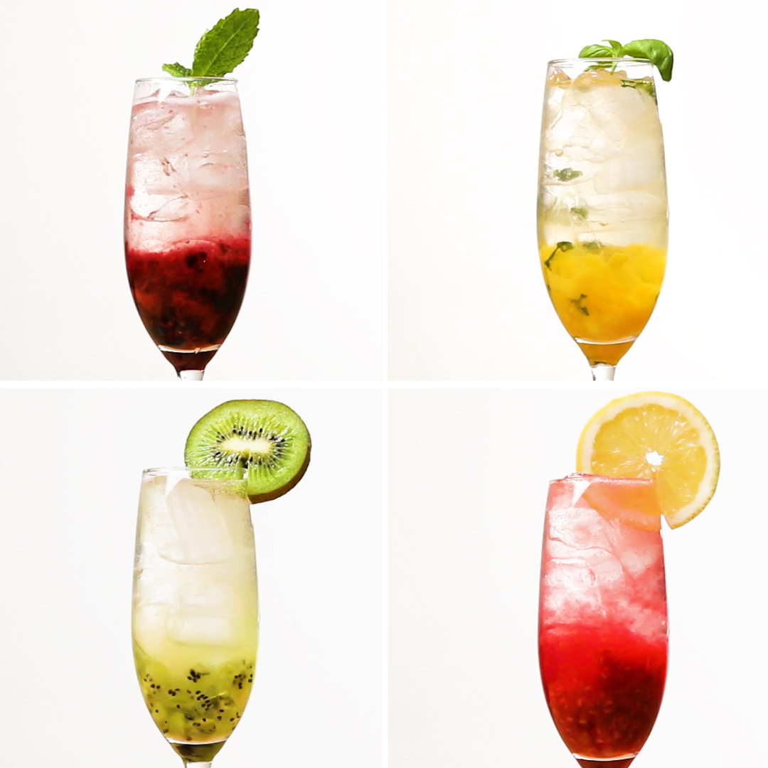 Fresh and Fruity Prosecco Cocktails 4-Ways | Recipes_image