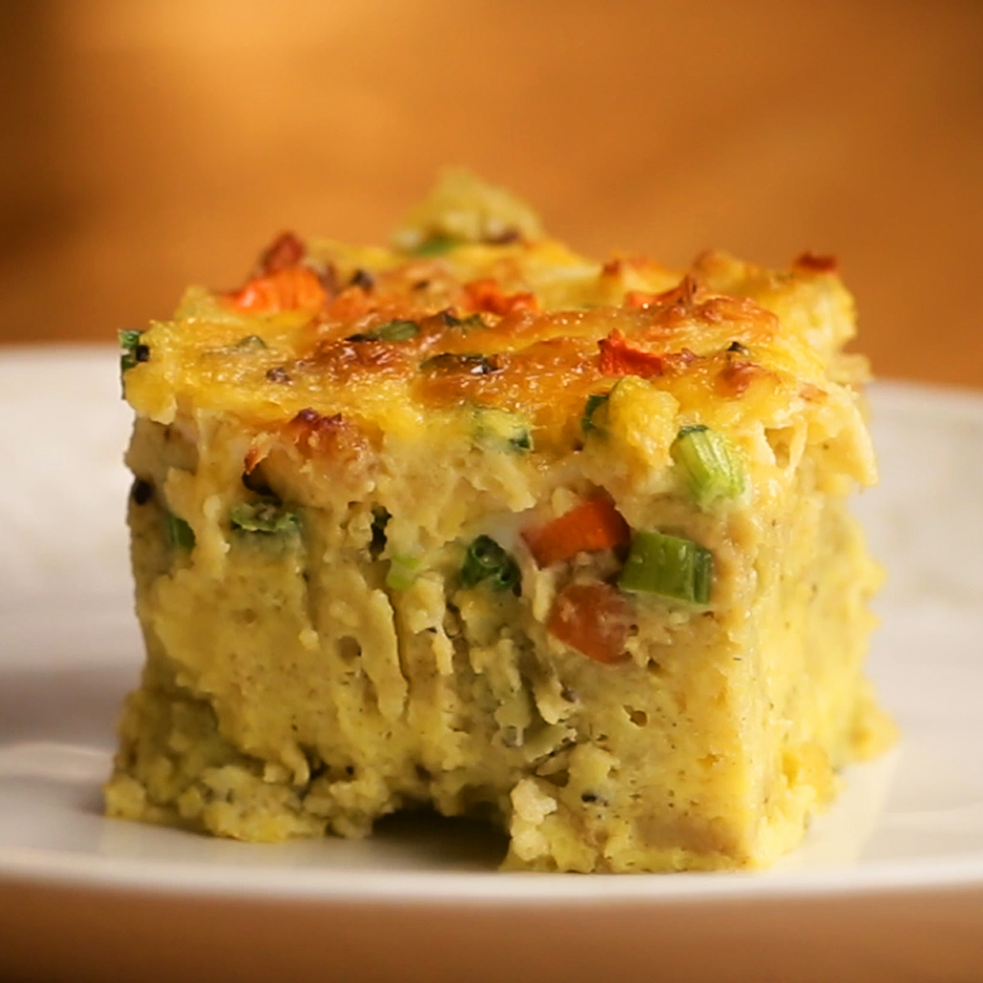 Thanksgiving Leftovers Breakfast Bake Recipe By Tasty