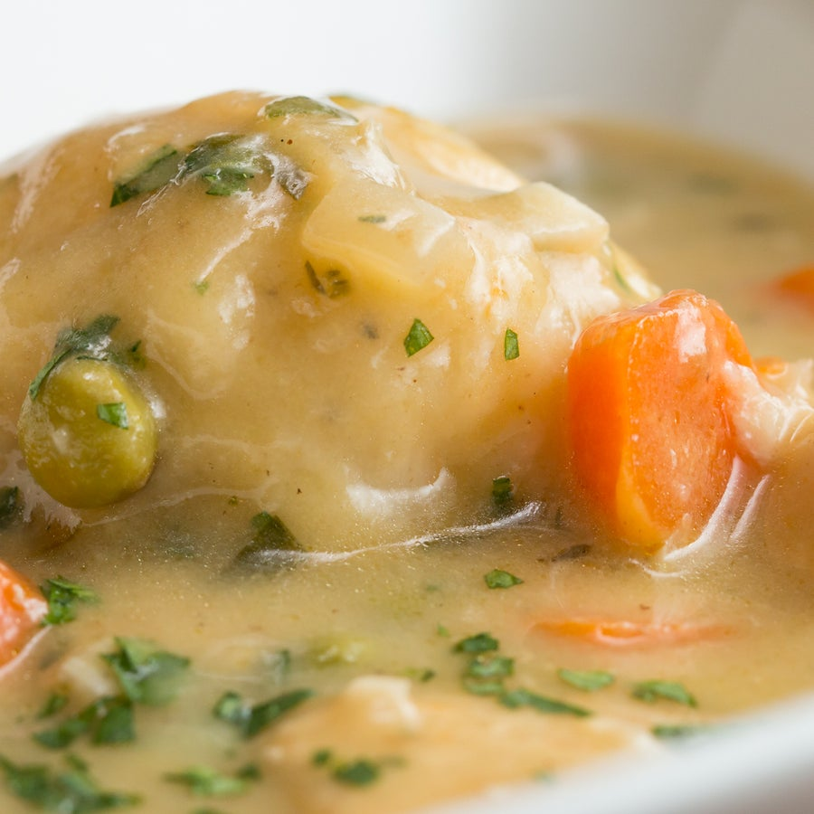 Cozy Chicken And Dumplings