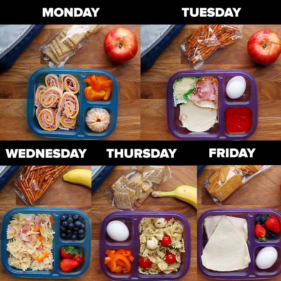 Design Meal Prep Ideas For School Lunch