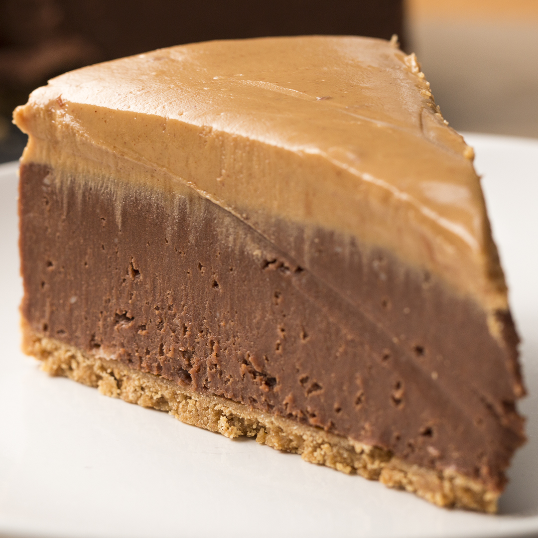 No Bake Chocolate Peanut Butter Cheesecake Recipe By Tasty