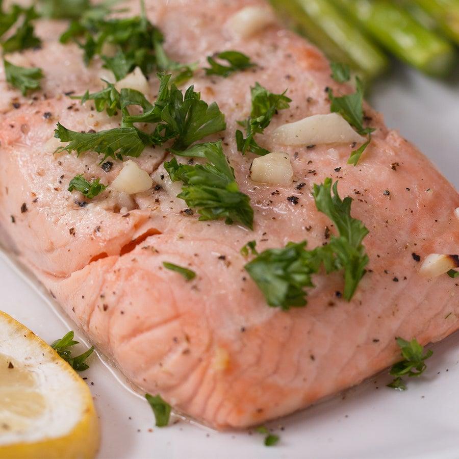 Grilled Citrus Salmon & Asparagus