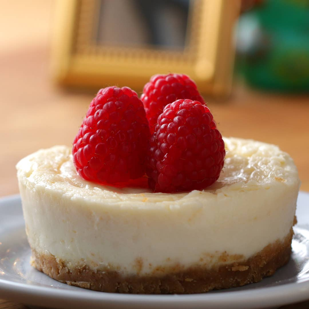 5 Minute Microwave Cheesecake Recipe By Tasty
