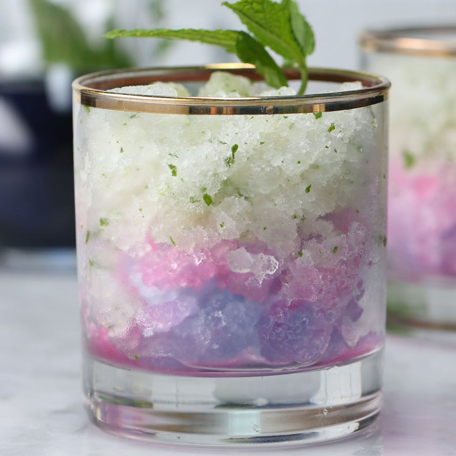 Color-Changing Frozen Mojito