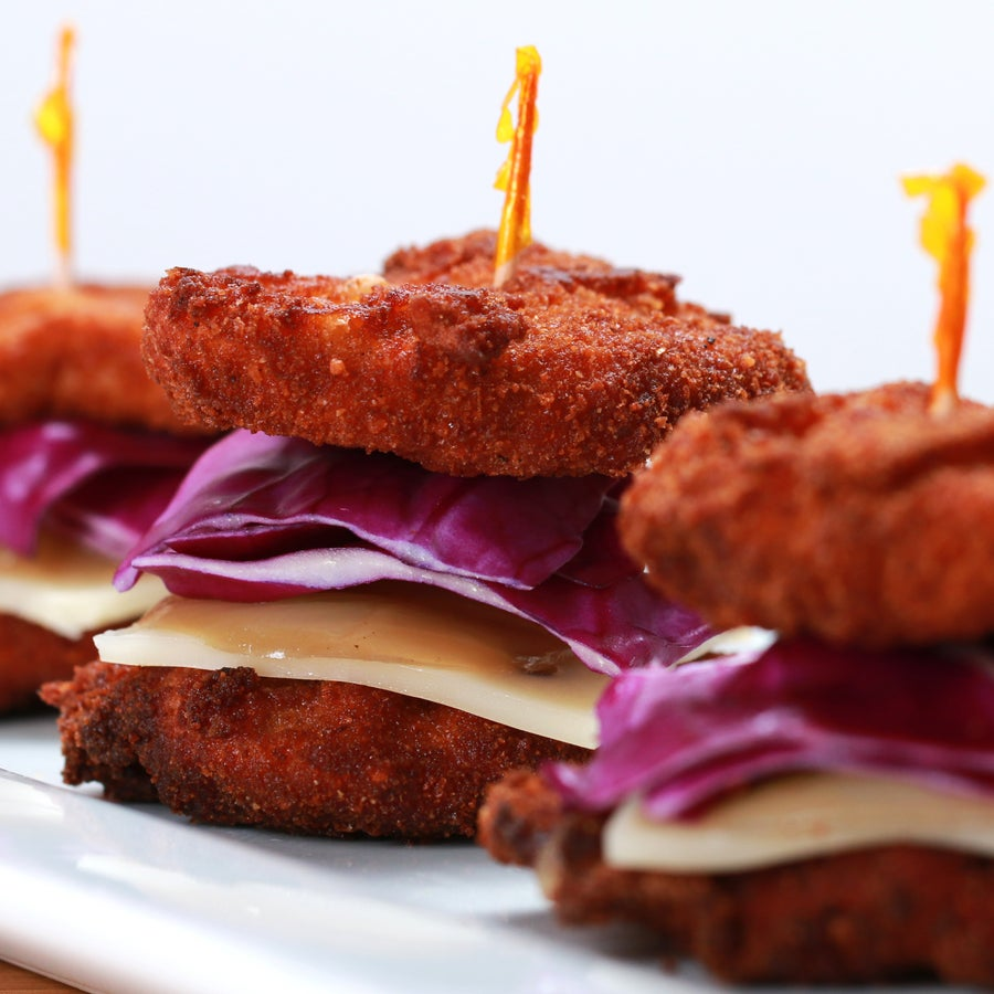 Pork Cutlet Sliders