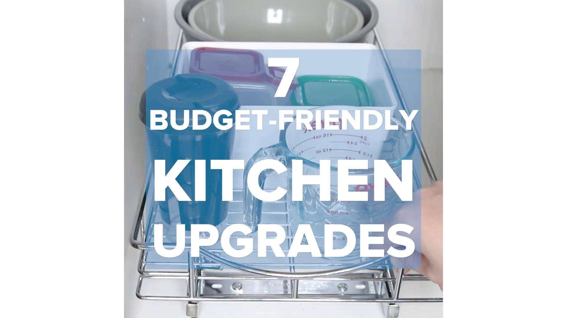 7 Budget-Friendly Upgrades For Your Small Kitchen