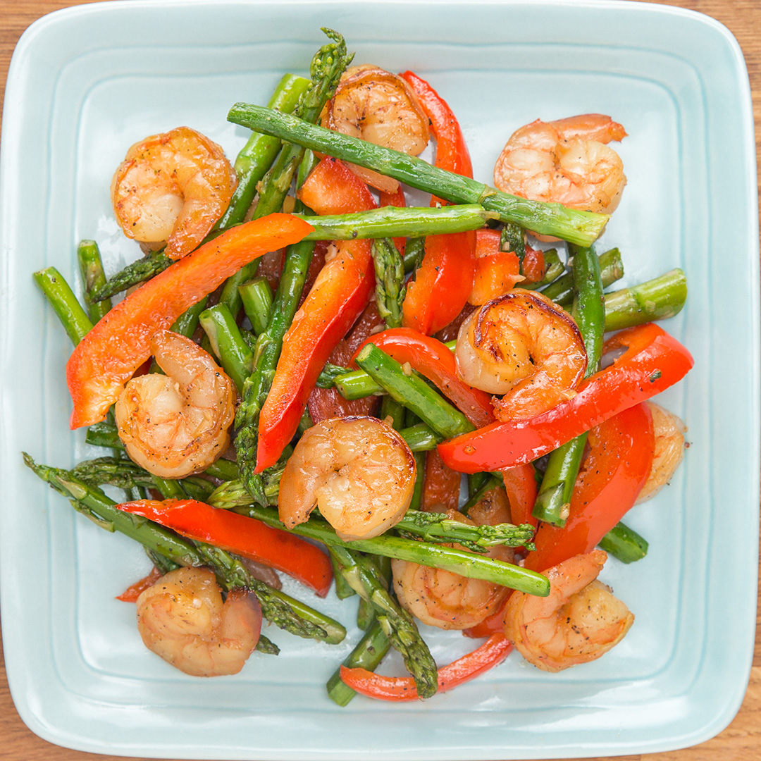 Under 300-Calorie Honey Lime Shrimp Recipe By Tasty