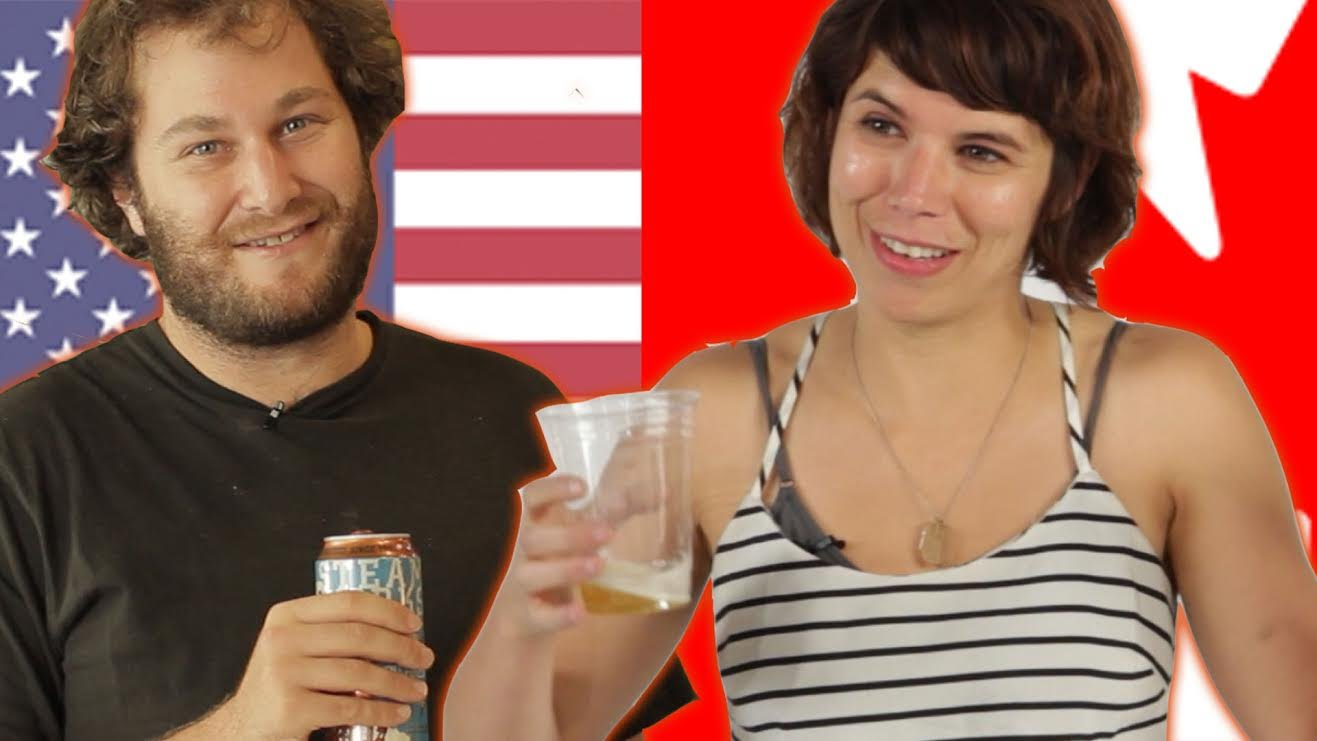 american vs canadian girls