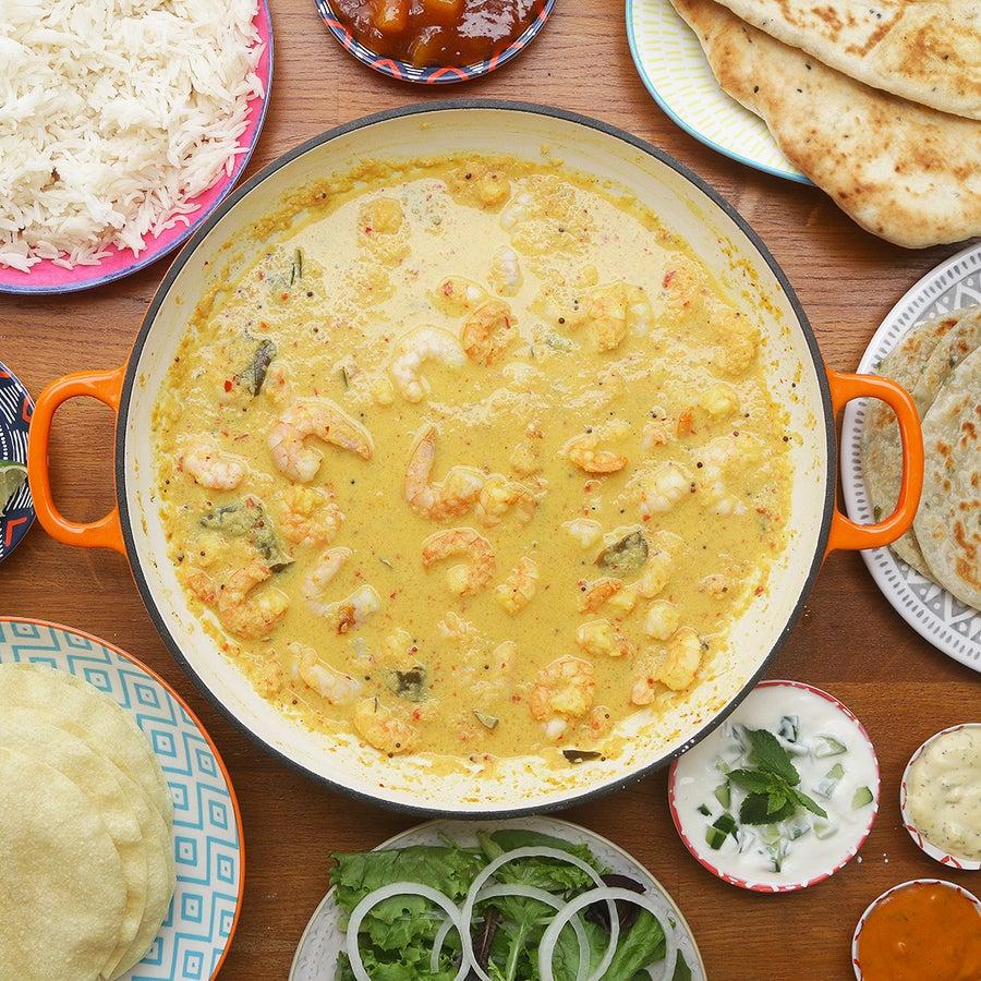 Kerala Style Prawn Curry