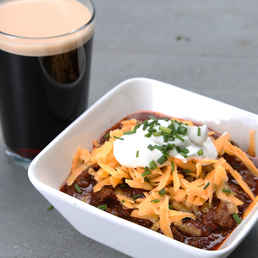 Easy Stout Beer Chili