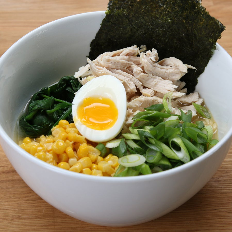 Easy Chicken Miso Ramen
