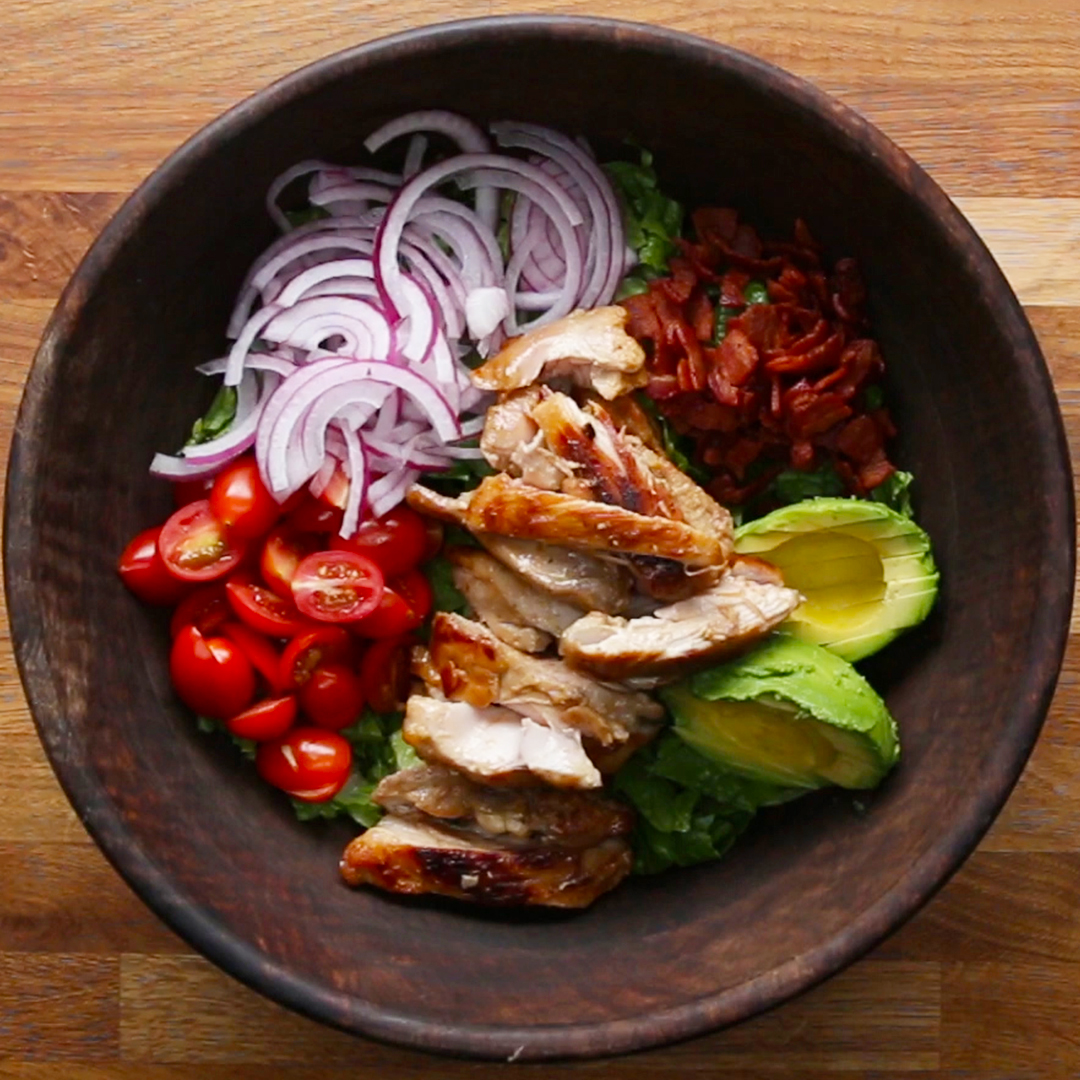 Honey Mustard Chicken Salad Recipe By Tasty