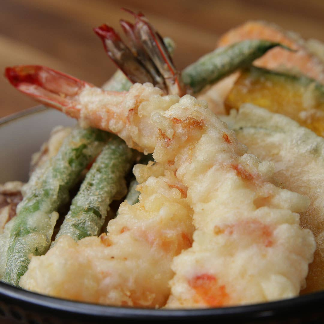 Tempura Bowl Recipe By Tasty