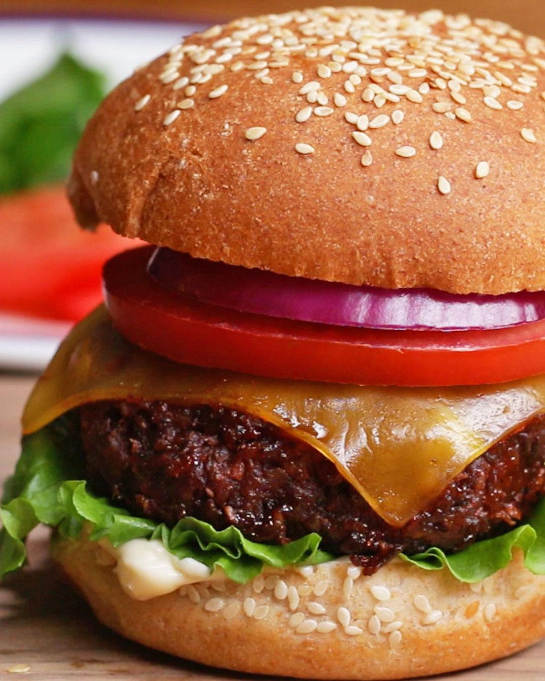 The Best Ever Vegan Burger Recipe By Tasty