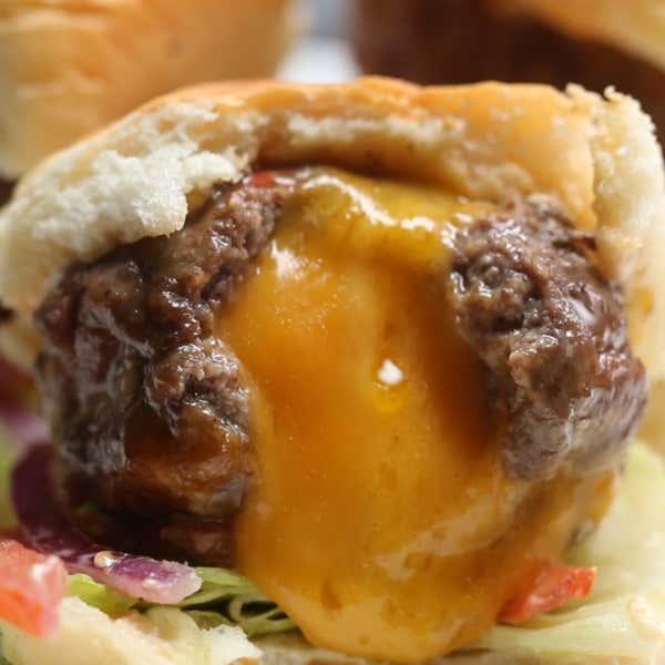 Homemade Big Massive Burger Recipe by Tasty