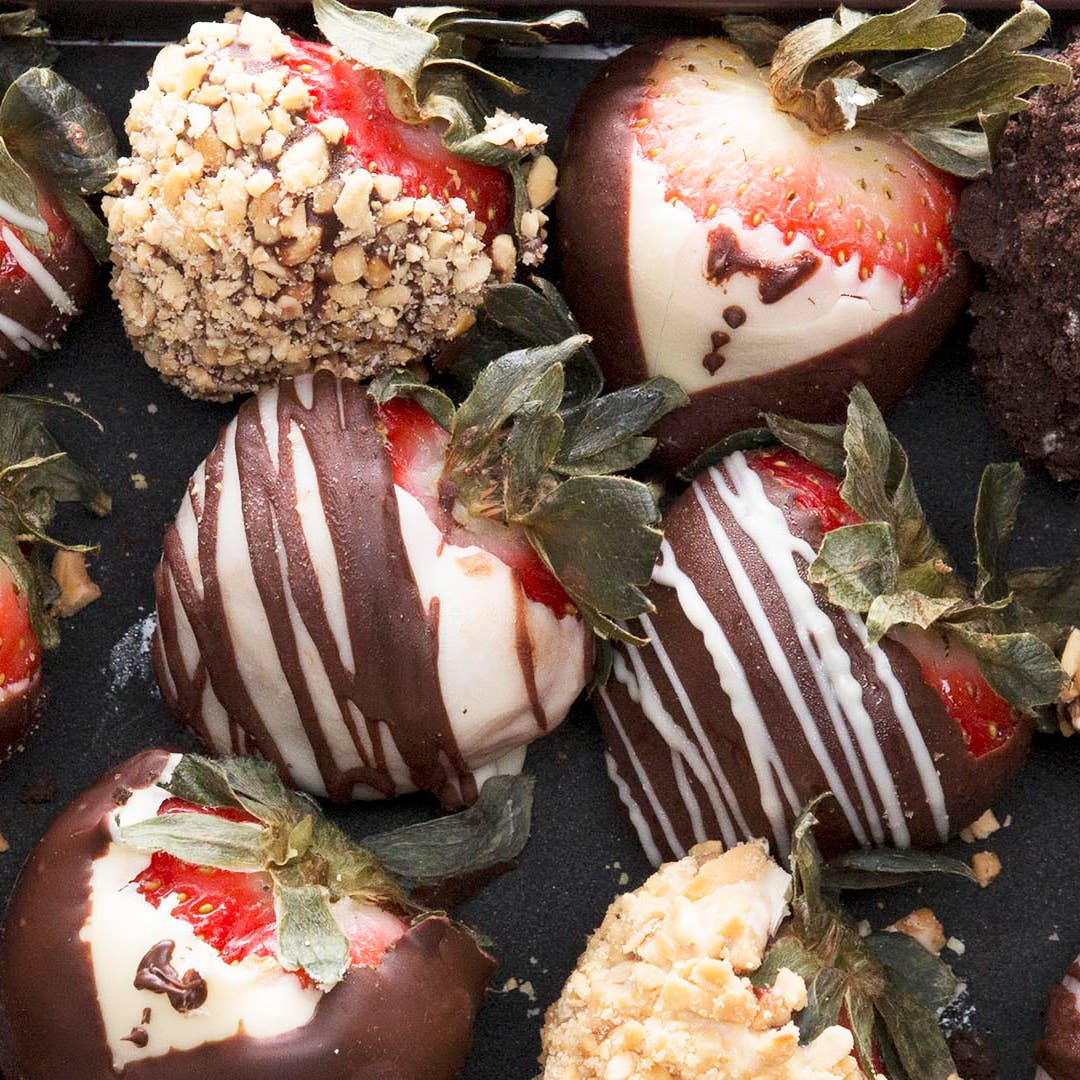Chocolate Covered Strawberries 4 Ways Recipe By Tasty