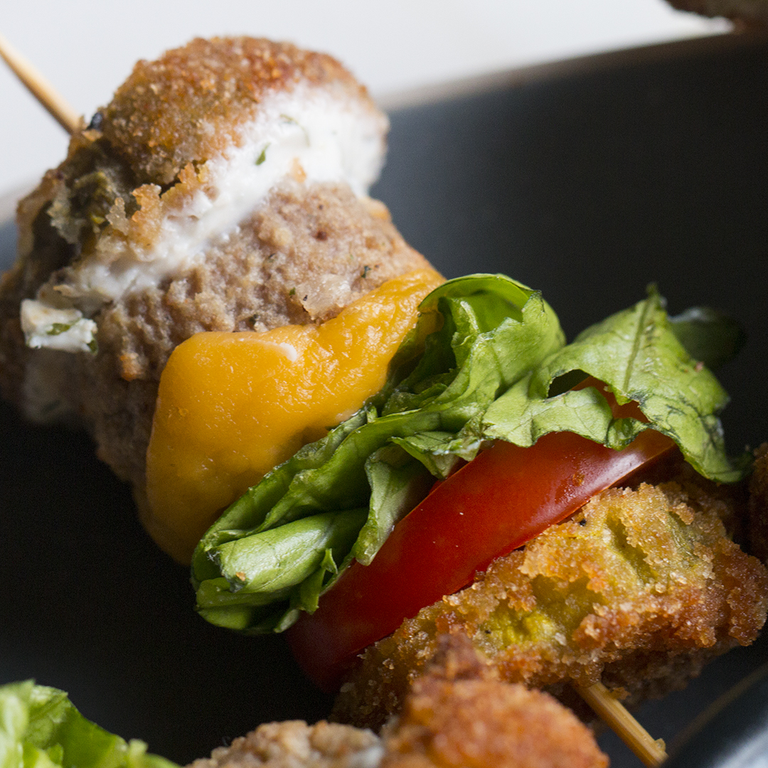 Fried Pickle Sliders Recipe By Tasty
