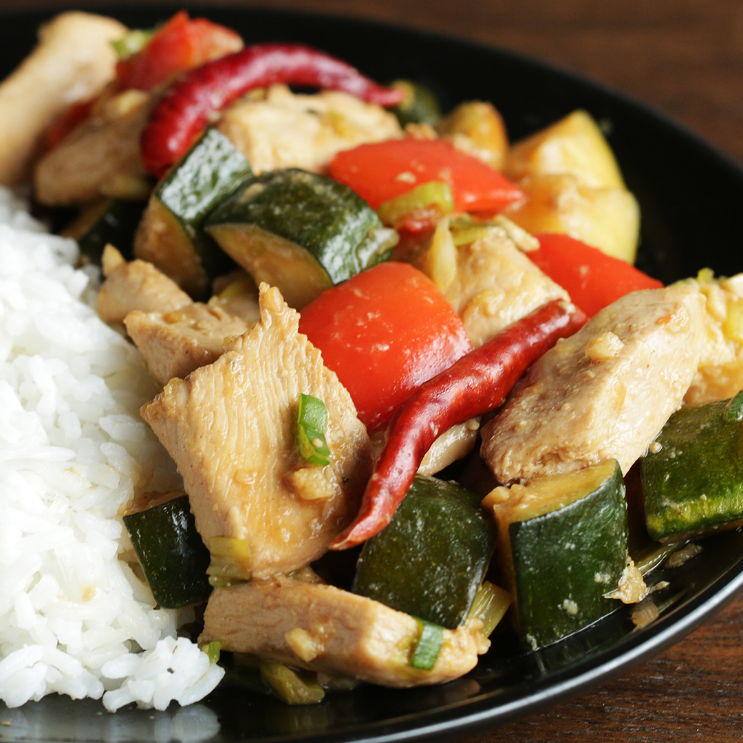 Kung Pao Chicken Recipe By Tasty