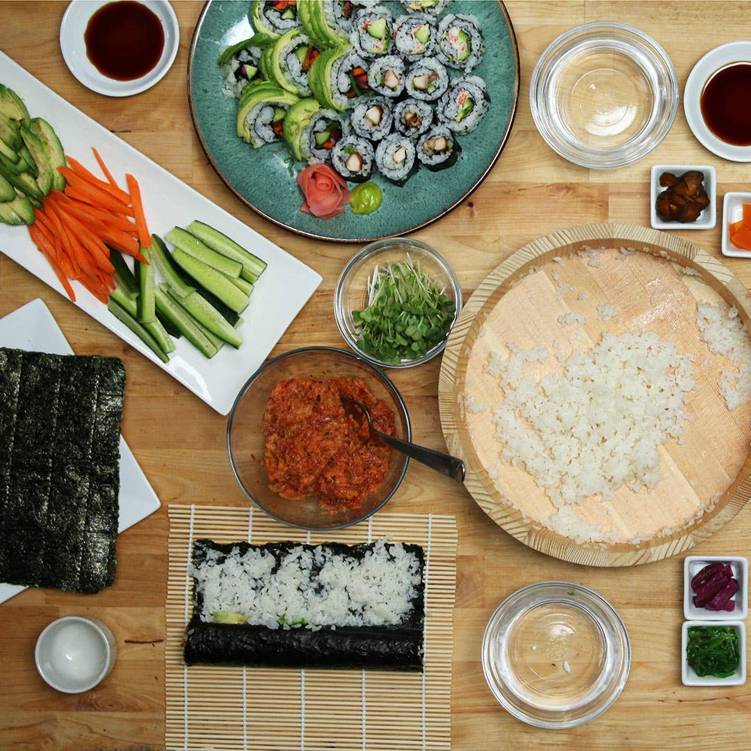 How To Throw A Sushi Party Recipe By Tasty Station sushi has been preparing the best sushi in san diego since 1998! how to throw a sushi party recipe by tasty
