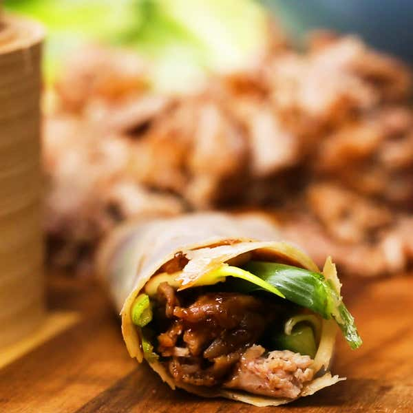 Tasty food videos and recipes homemade chinese style crispy duck in a pancake forumfinder Images