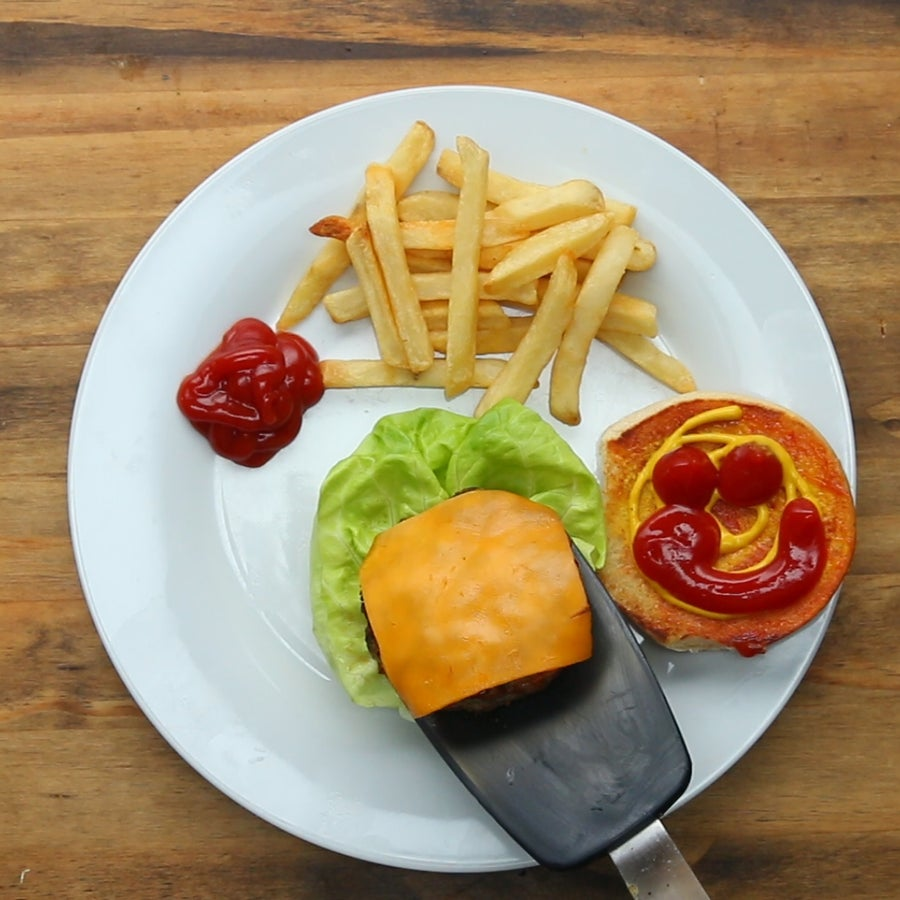 Hidden Veggie Burgers
