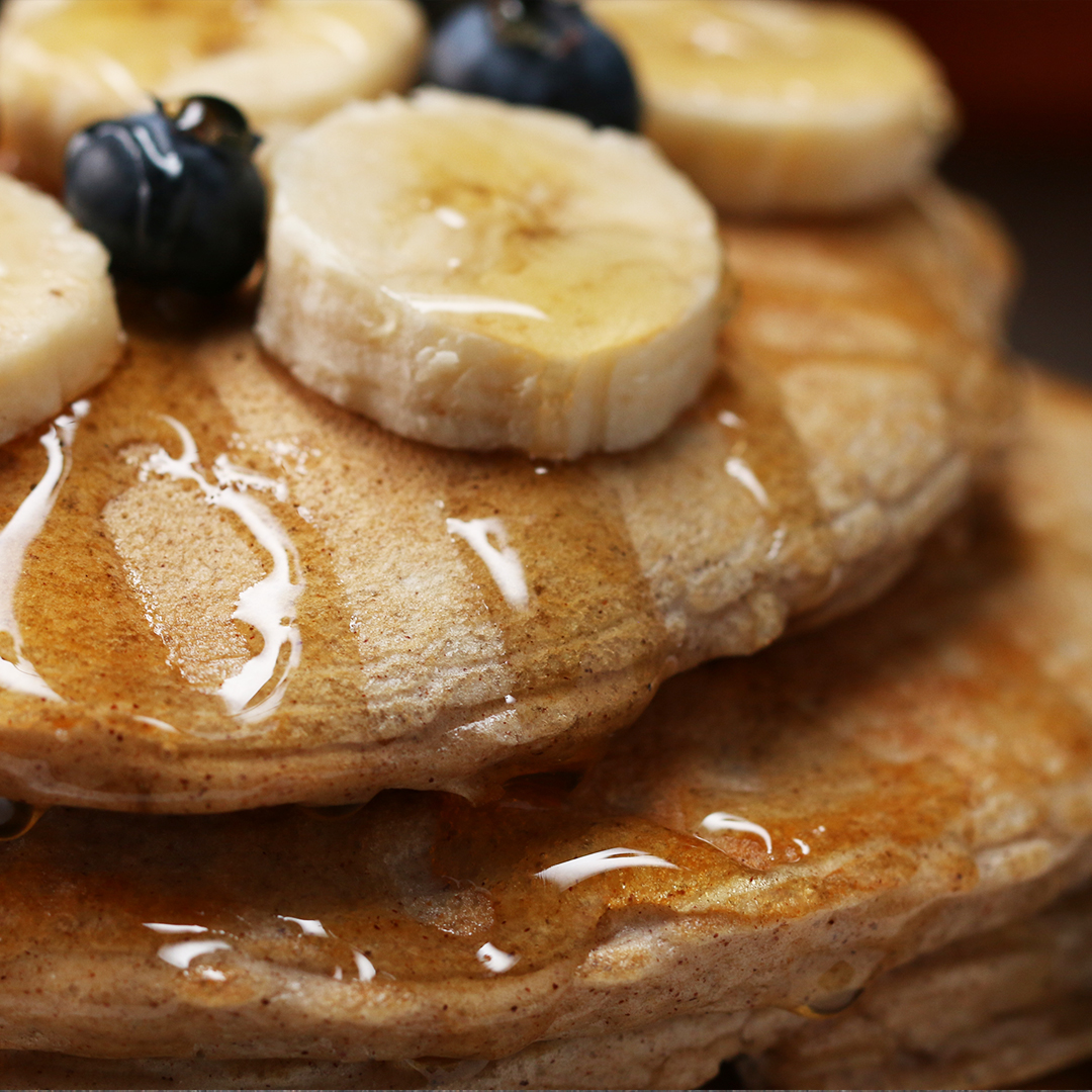 Vanilla Protein Pancakes Recipe by Tasty