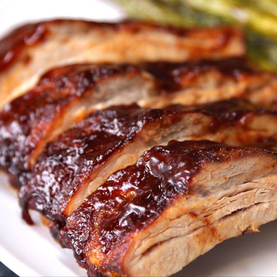 One Pan Baby Back Ribs Recipe By Tasty