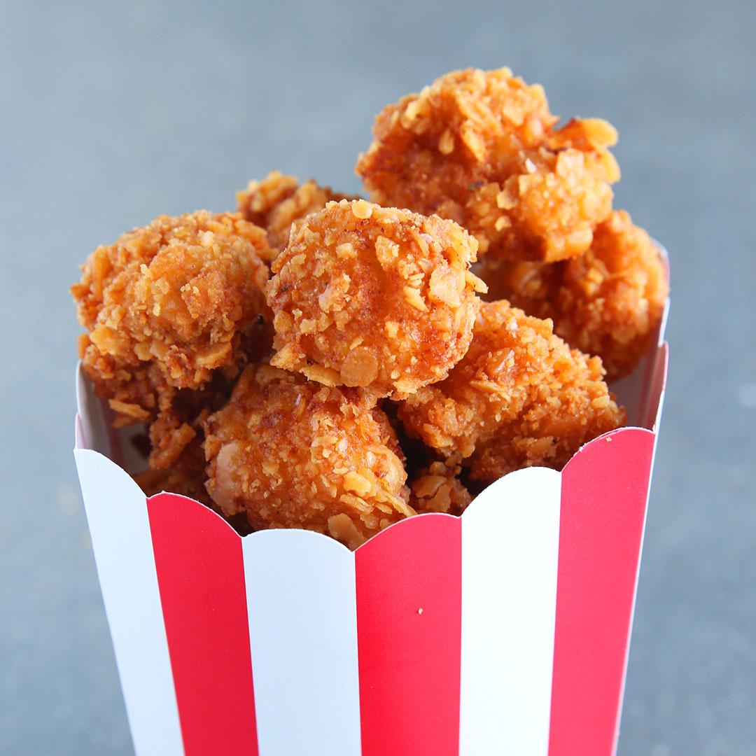 cheddar ranch popcorn chicken recipe by tasty