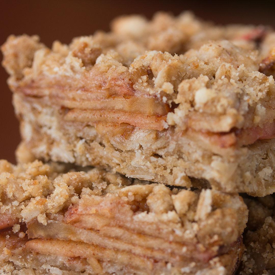 Apple Cinnamon Oatmeal Bars Recipe by Tasty