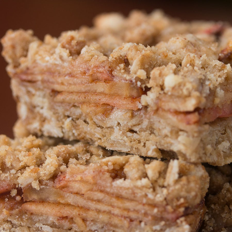 Apple Cinnamon Oatmeal Bars