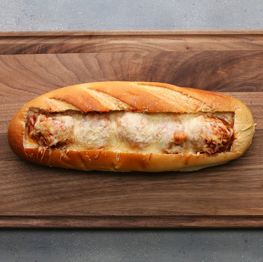 Meatball Bread Boat