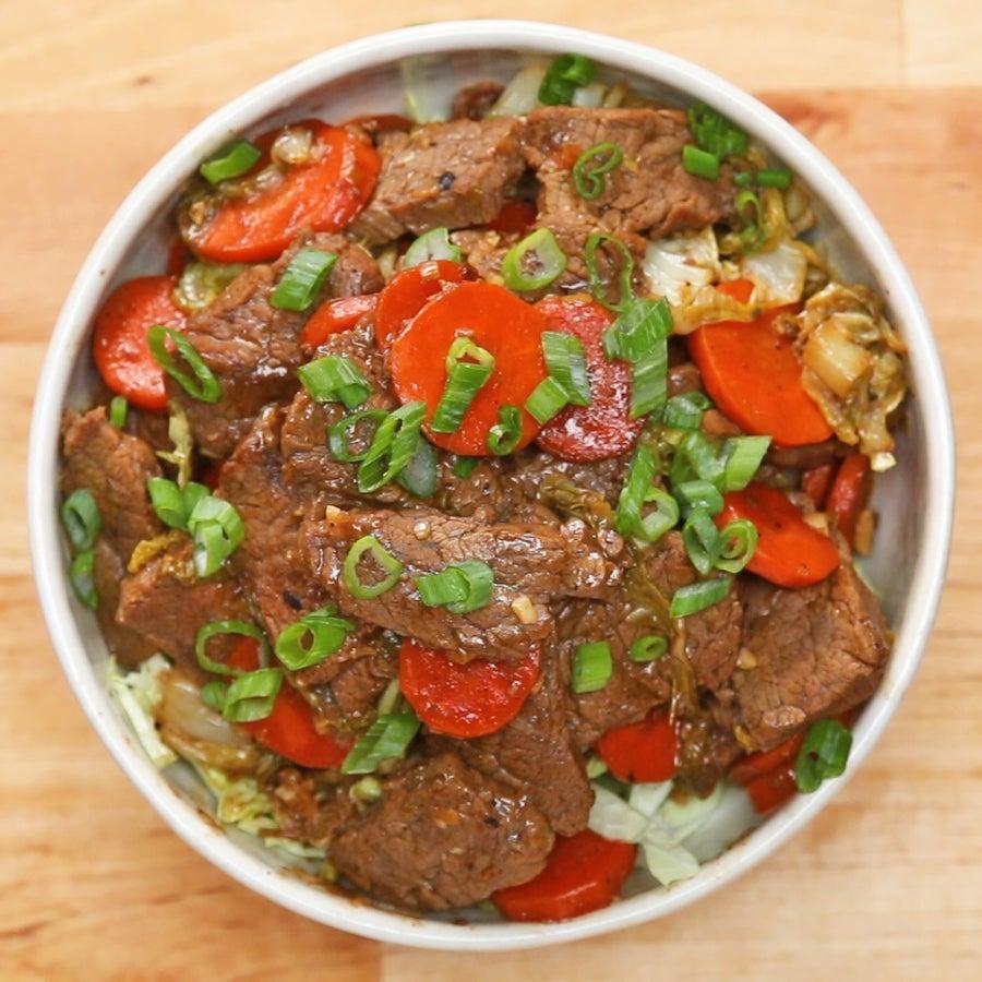 Paleo Beef and Veggie Stir-fry