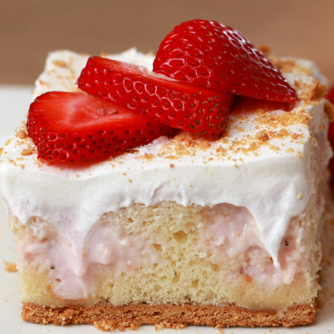 Strawberry Poke Cake Buzzfeed