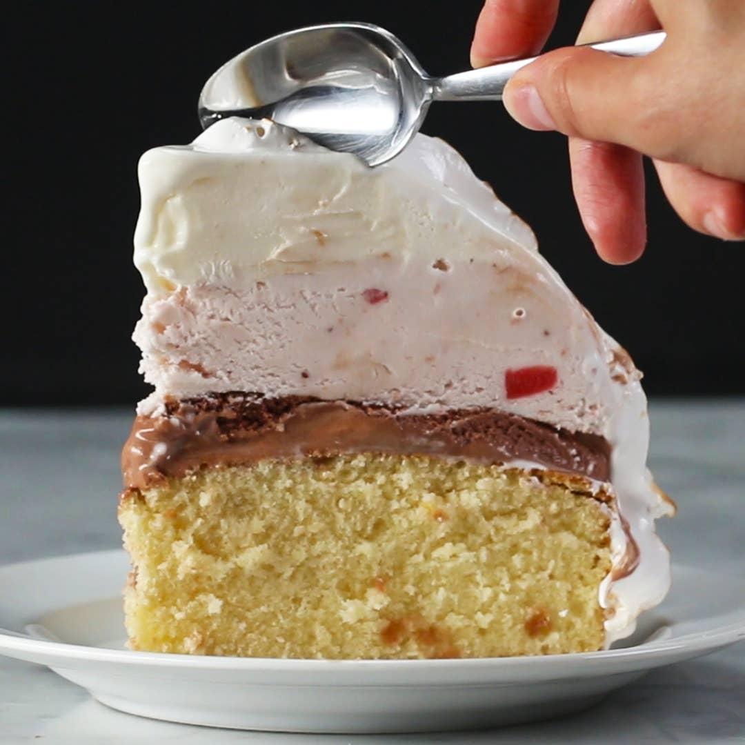 Baked Alaska Recipe By Tasty