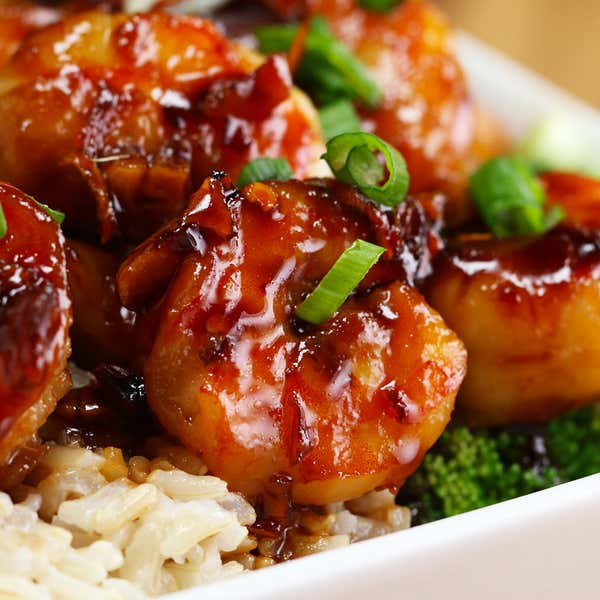 Recipes With Chicken Rice Broccoli: Honey Soy Glazed Salmon Recipe By Tasty