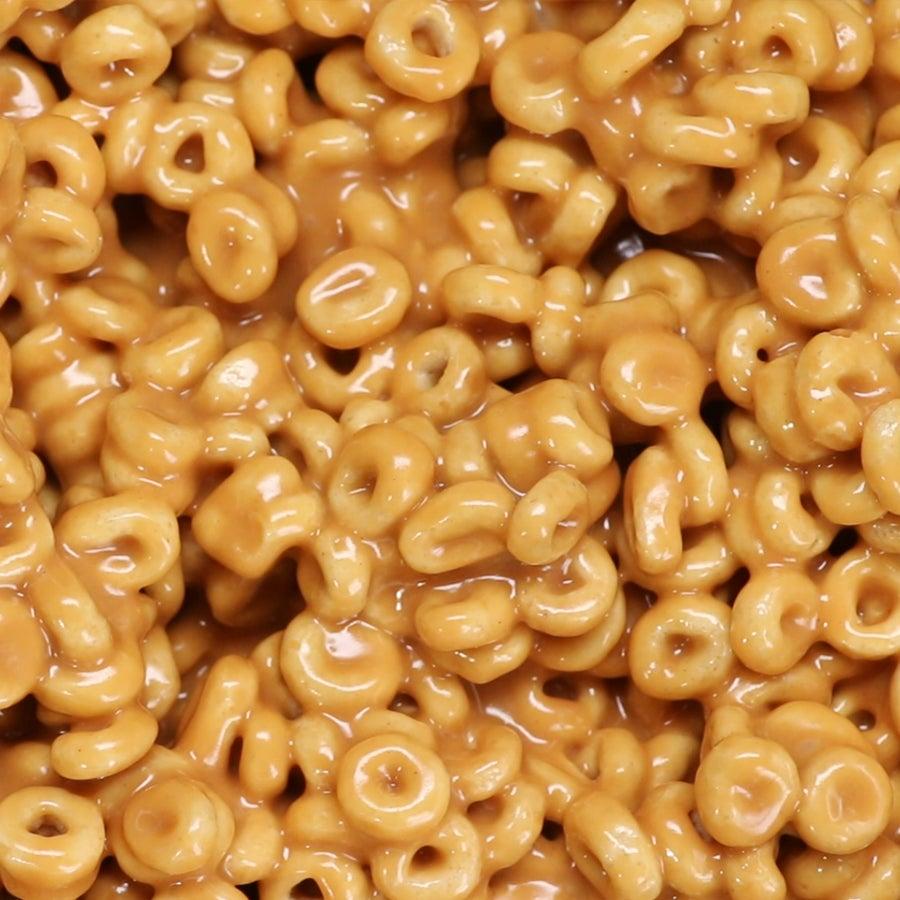 3-ingredient Peanut Butter Cereal Bites